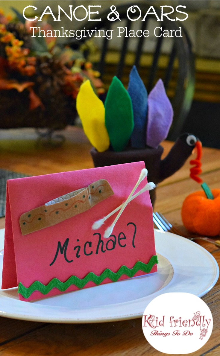A Simple Canoe Craft for Kids {Perfect for Thanksgiving}