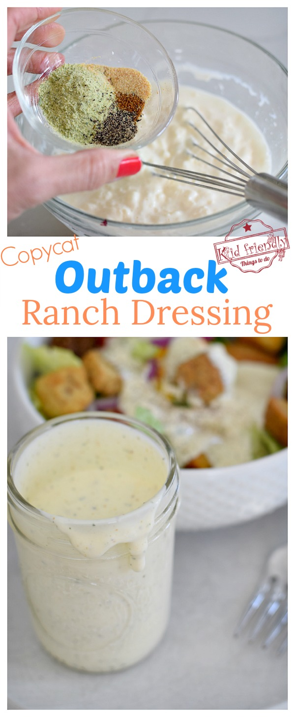 best outback ranch dressing mix