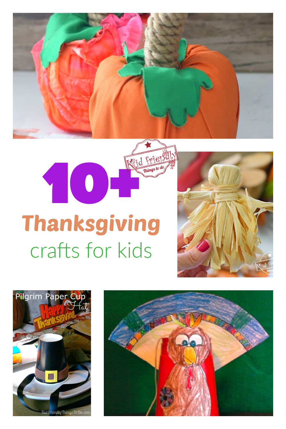 Over 10 Thanksgiving Crafts for Kids | Kid Friendly Things To Do