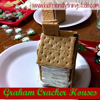 Make Graham Cracker Houses for Christmas