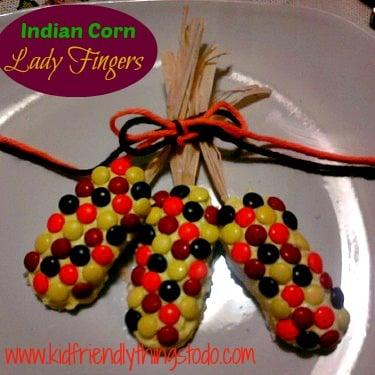 Ladyfinger Indian Corn Dessert