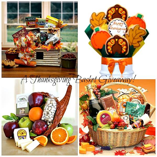 Win a beautiful thanksgiving basket kid friendly things