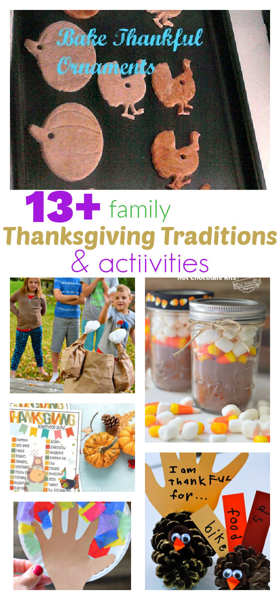 Thanksgiving traditions with kids