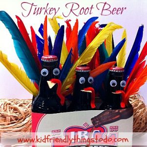 Turkey Root Beer For A Fun Thanksgiving Drink, Craft & Decoration