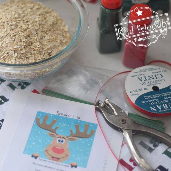 reindeer food and poem