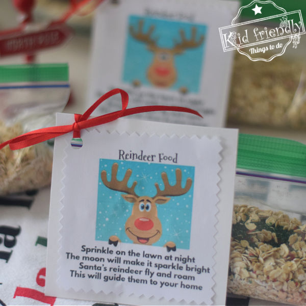 How To Make Reindeer Food {plus Printable Poem and Bag Idea} |  Kid Friendly Things To Do
