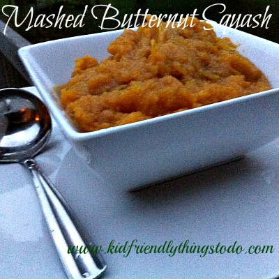Mashed Butternut Squash Recipe