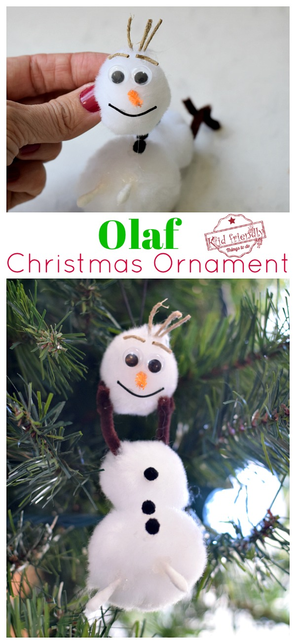 Olaf From the Movie Frozen Craft