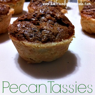 Pecan Tassies! Deliciousness in one bite!