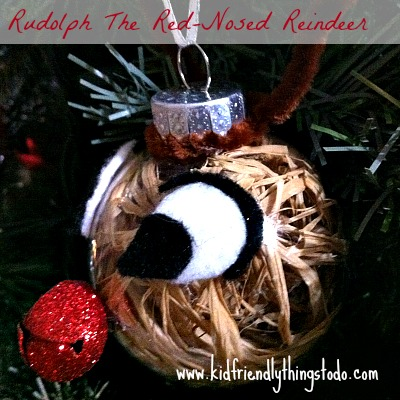 DIY Rudolph The Red-Nosed Reindeer
