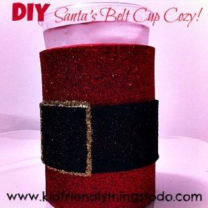 Santa cup craft