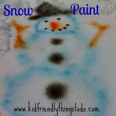 Easy DIY Snow Paint Recipe