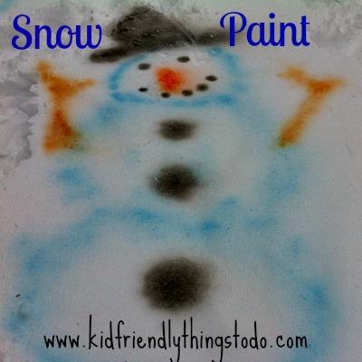 DIY Snow Paint – Kid Friendly Things To Do .com