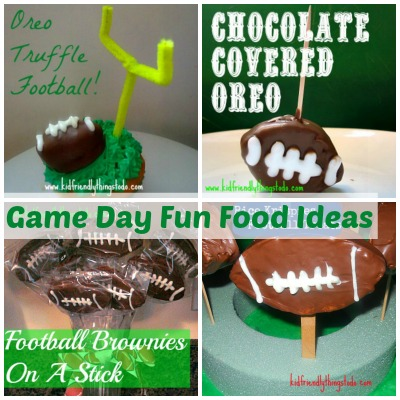 Game Day Fun Foods – Kid Friendly Things To Do .com