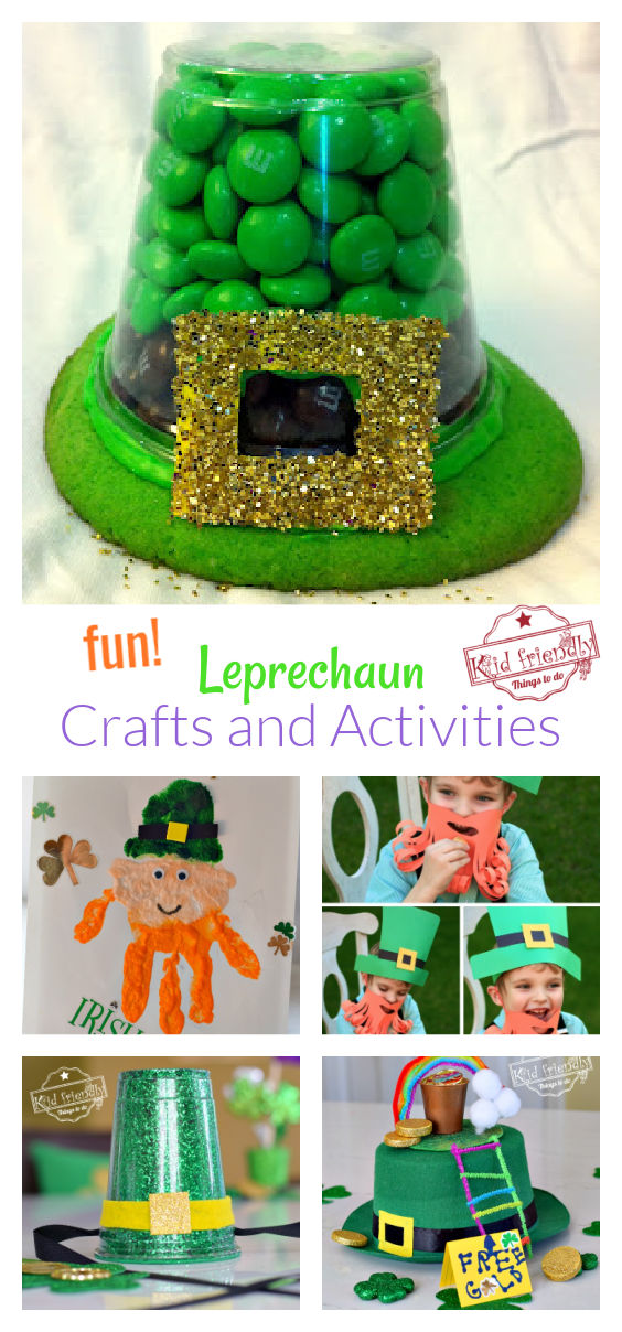 Leprechaun Crafts and Activities