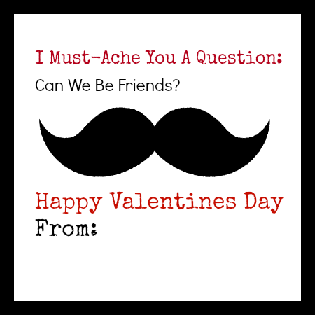 Non Candy & Super Fun Valentine's Day Ideas With Free Printables!!!!