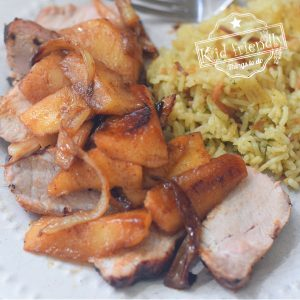 pork tenderloin with apples and onions recipe