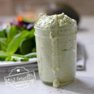 homemade avocado ranch dressing