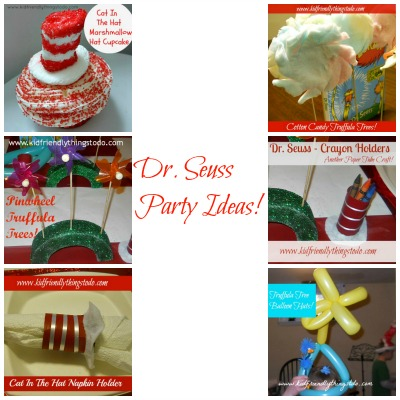 Dr. Seuss Party Ideas – Kid Friendly Things To Do .com
