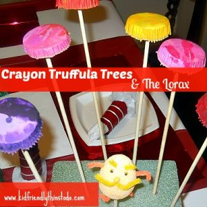 Crayon Truffula Trees & The Lorax Craft
