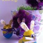Minion Easter Eggs as Bunnies!