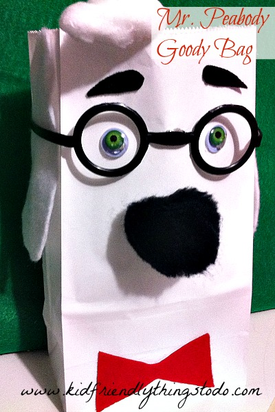 Mr. Peabody Gift Bag Craft – Kid Friendly Things To Do