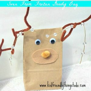 Sven From Frozen Gift Bag Craft – Kid Friendly Things To Do .com