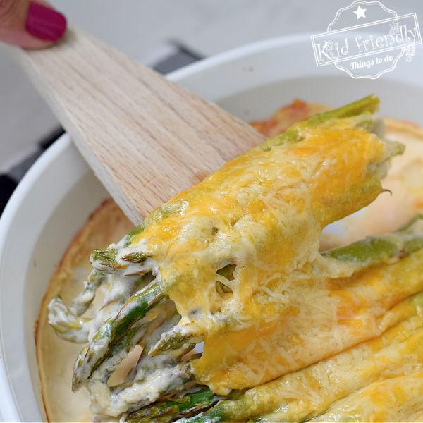 cheesy asparagus recipe