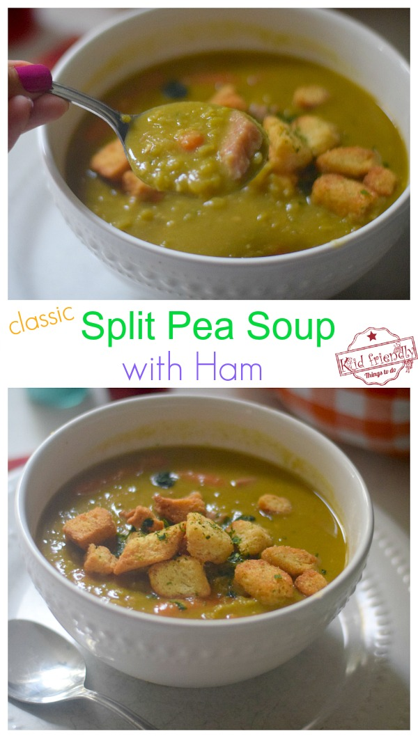 split pea soup recipe with ham bone