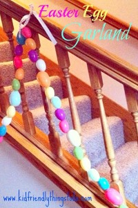 An Adorable Easter Garland! – Kid Friendly Things To Do .com