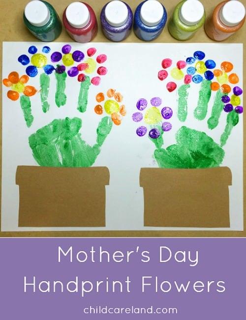 Mother's Day fingerprint craft