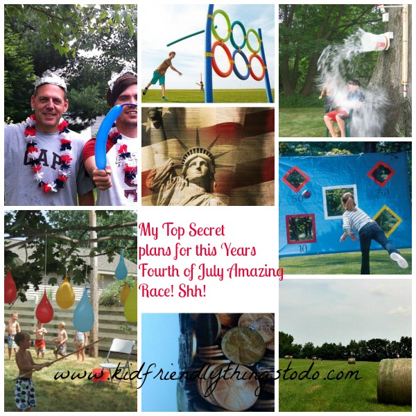 My Annual Fourth of July Amazing Race | Kid Friendly Things To Do