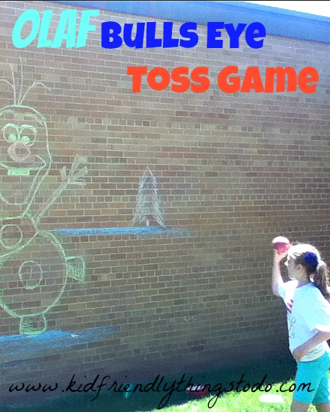 Frozen Party Game – Olaf Bean Bag Toss {So fun!} | Kid Friendly Things To Do