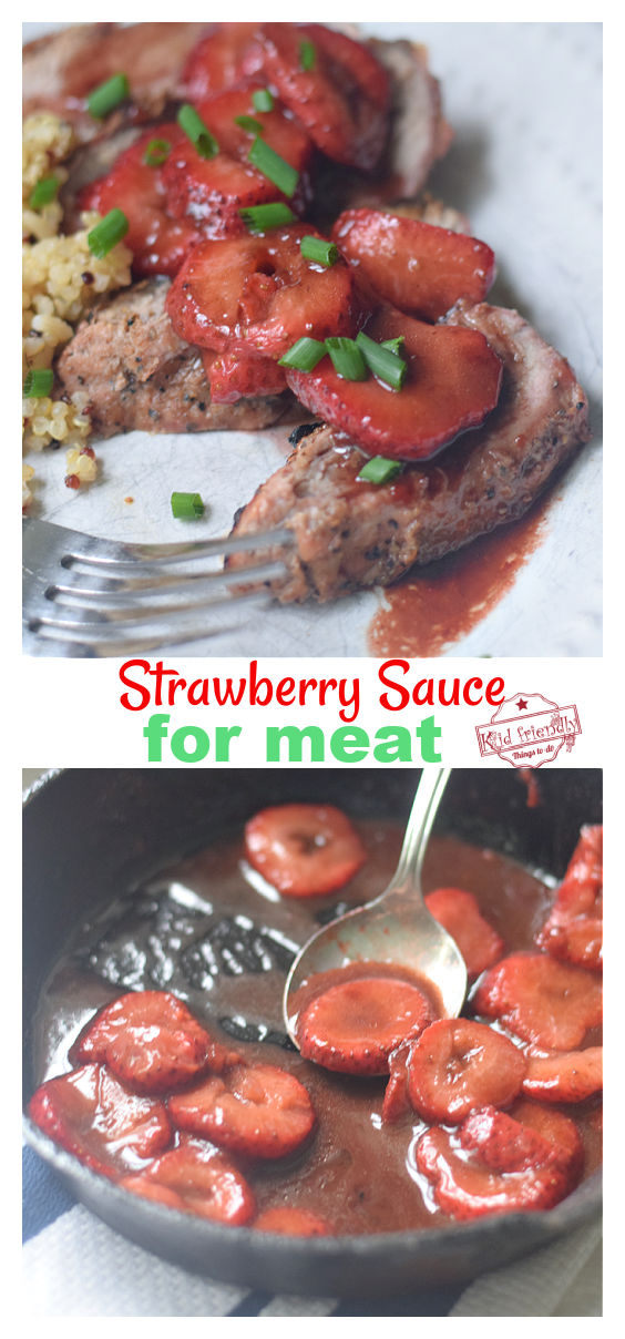 strawberry sauce for meat recipe