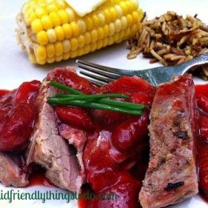 Strawberry sauce for pork tenderloin
