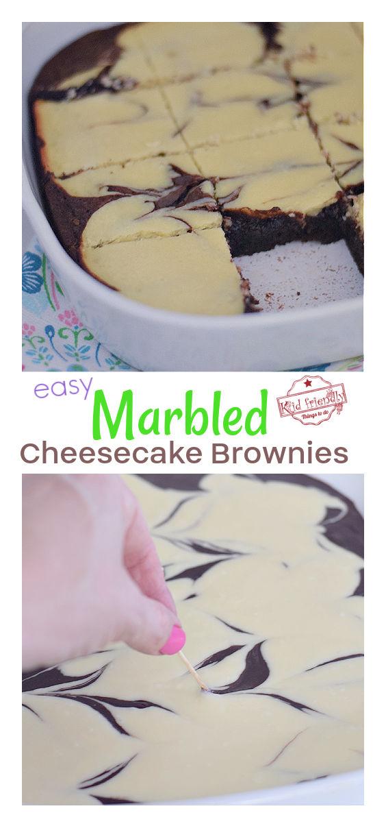 marbled cheesecake brownies recipe
