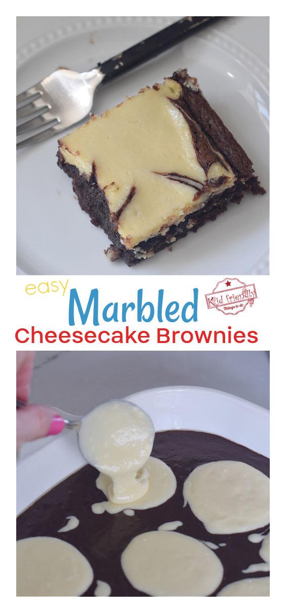 easy cheesecake brownies