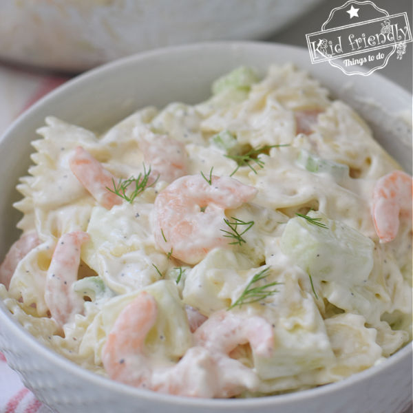 cold shrimp pasta salad recipe