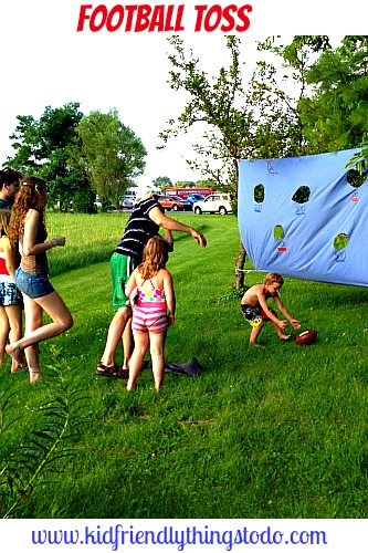 The Amazing Race Football Toss – Kid Friendly Things To Do .com