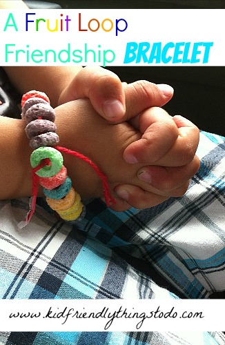 david and jonathan craft ideas a fruit loop friendship bracelet kid friendly things to 6438