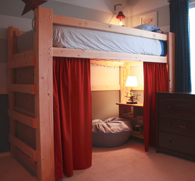 Loft beds for the boys kid friendly things to do com - Cool stuff to put in your room ...