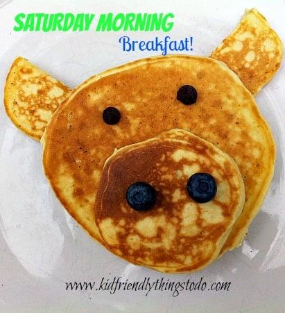 Fun Pig Shaped Pancakes – Kid Friendly Things To Do