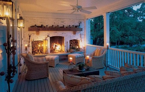 Back Sleeping Porch Ideas With Swings And Fireplaces Kid