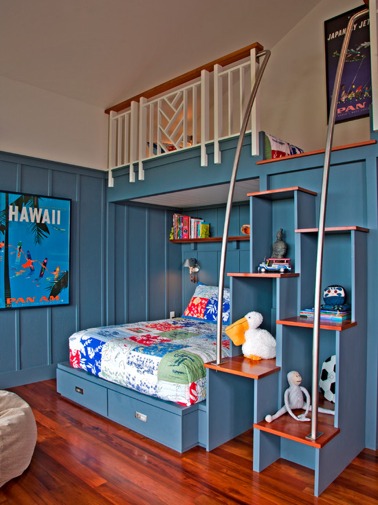Loft beds for the boys kid friendly things to do com for Room decor for 10 year old boy