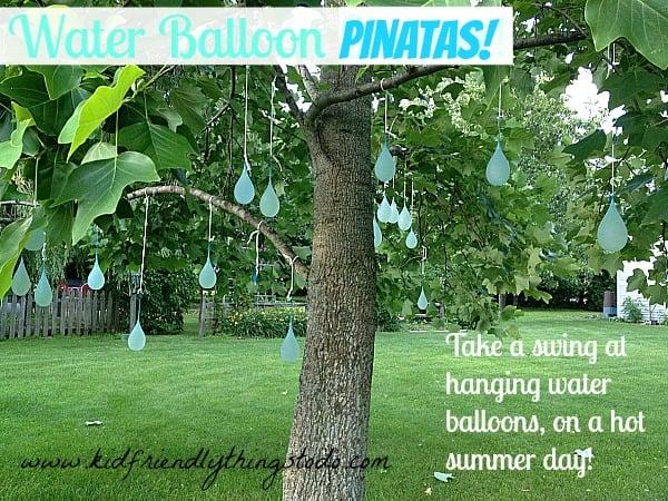 Water Balloon Piñata {Fun Summer Game!} – Kid Friendly Things To Do