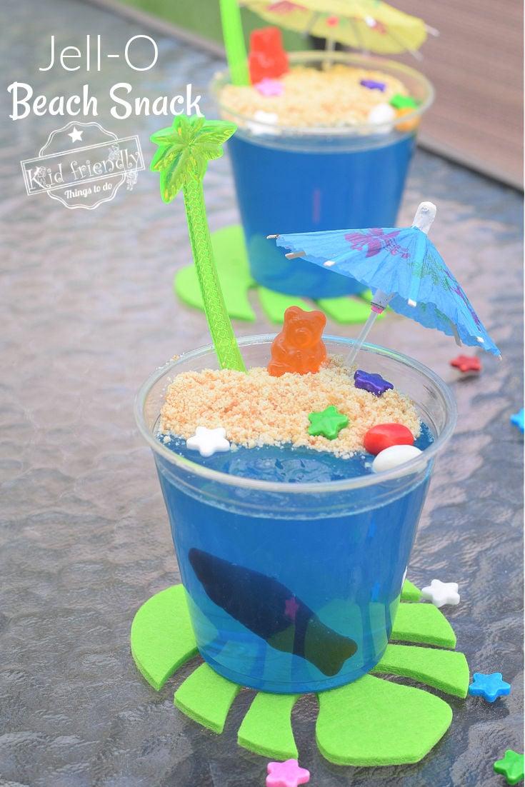 Jell-O Beach Cups