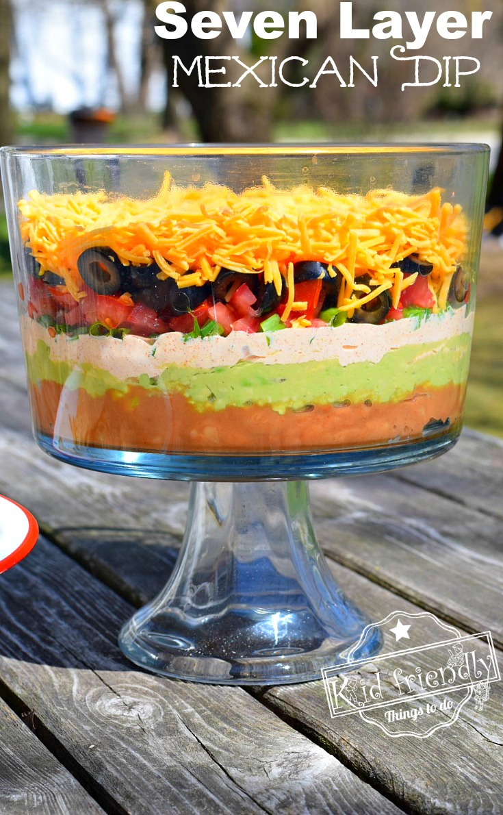 Seven Layer Dip in a Truffle Bowl