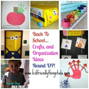 back to school crafts and ideas