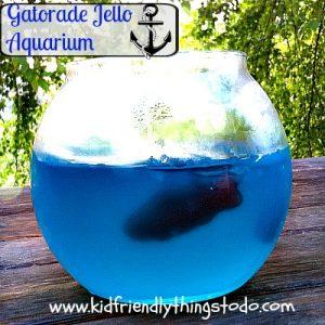 Cool Blue Gatorade Jello Fish Tank – Fun Food – Kid Friendly Things To Do .com