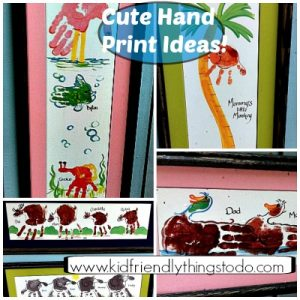 Hand Print Art – Kid Friendly Things To Do .com